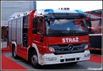 GBA Mercedes Benz Atego 1329/Rosenbauer - Pojazd demonstracyjny